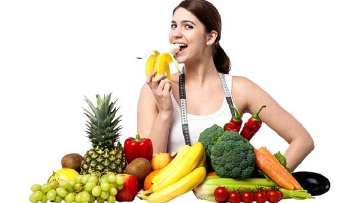 giảm cân bằng rau hiệu quả