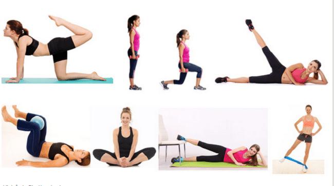lịch tập gym giảm cân cho nữ tại phòng tập