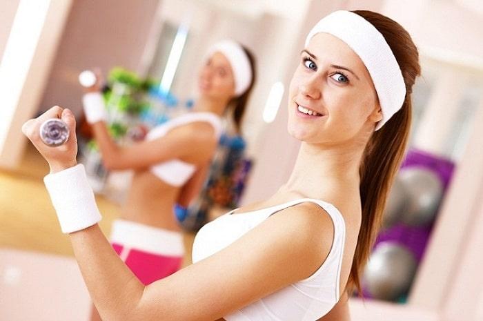 tập gym giảm cân nữ