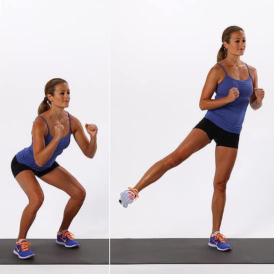 bài tập squat tăng kích thước vòng 3