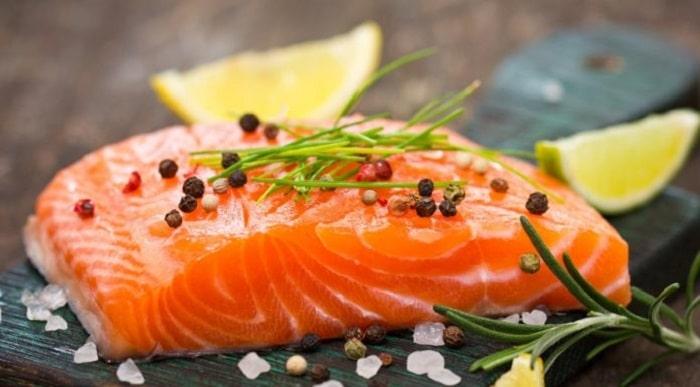 thực phẩm giảm cân cá hồi