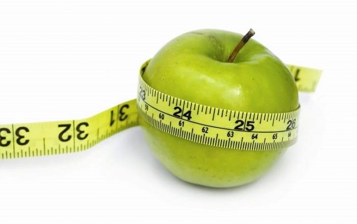 Thực phẩm giảm cân nhanh táo xanh