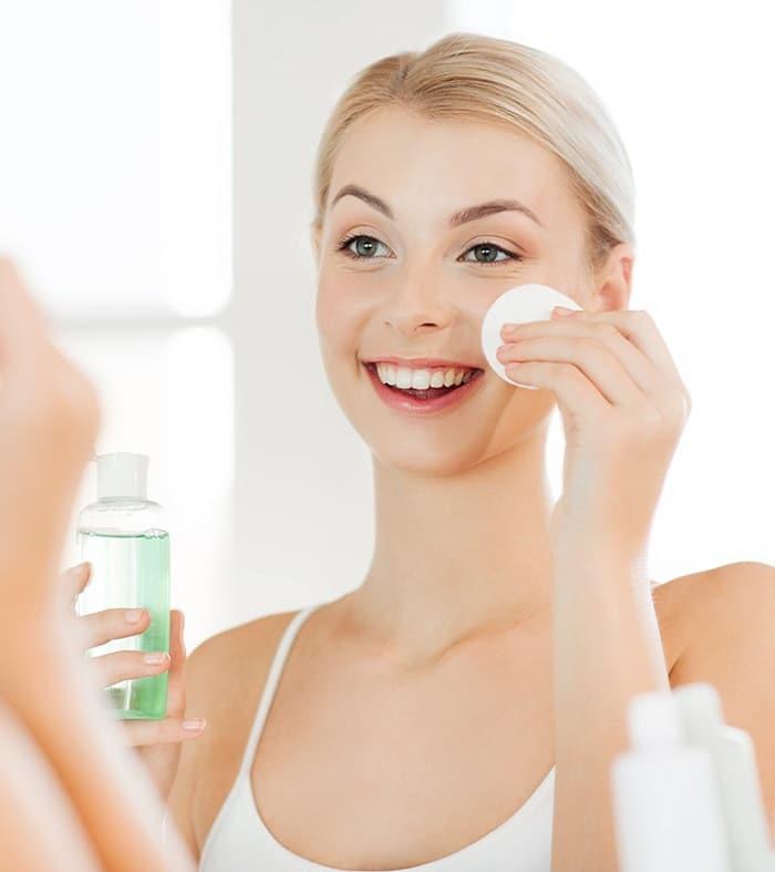 quy trình chăm sóc da mặt hàng ngày