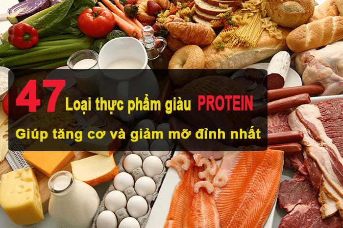 hình ảnh cho thực phẩm giàu protein