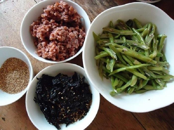 thực đơn giảm cân bằng gạo lứt