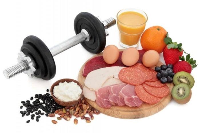 tập gym nên ăn gì để giảm cân