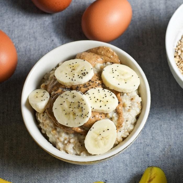 các món ăn từ yến mạch giảm cân