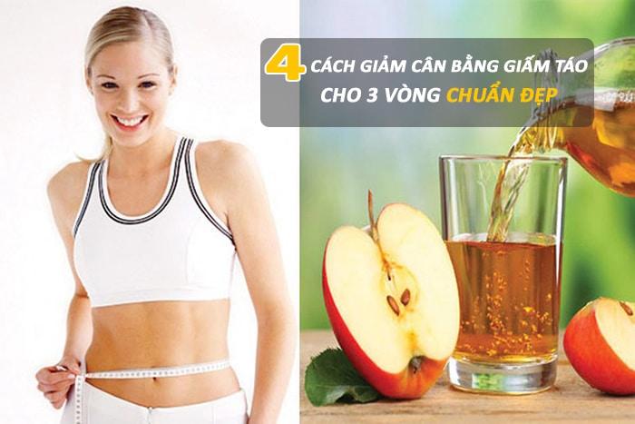 kết quả cho hình ảnh cách giảm cân bằng giấm táo