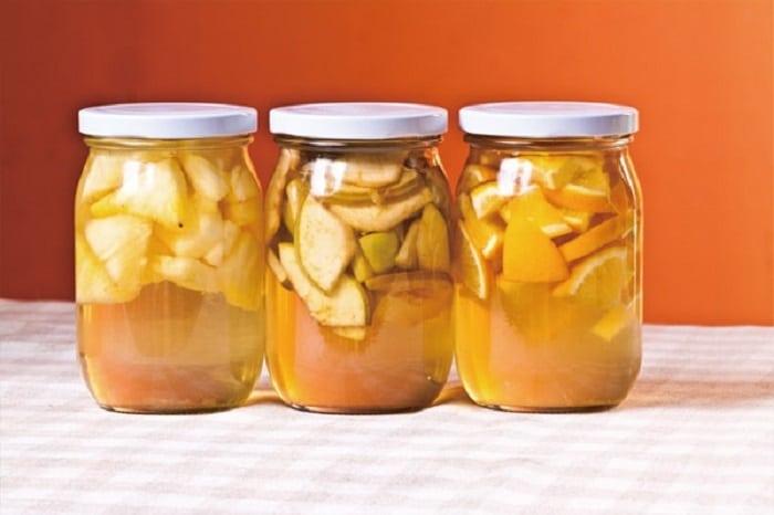cách làm giấm táo thường