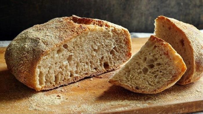 Bánh mì nguyên cám.