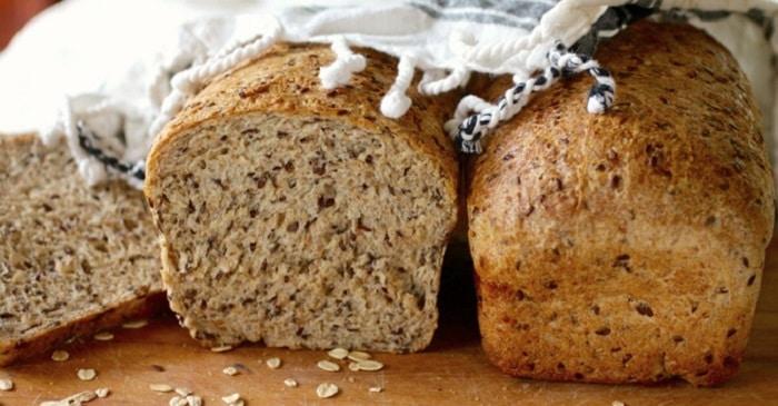Bánh mì hạt lanh.