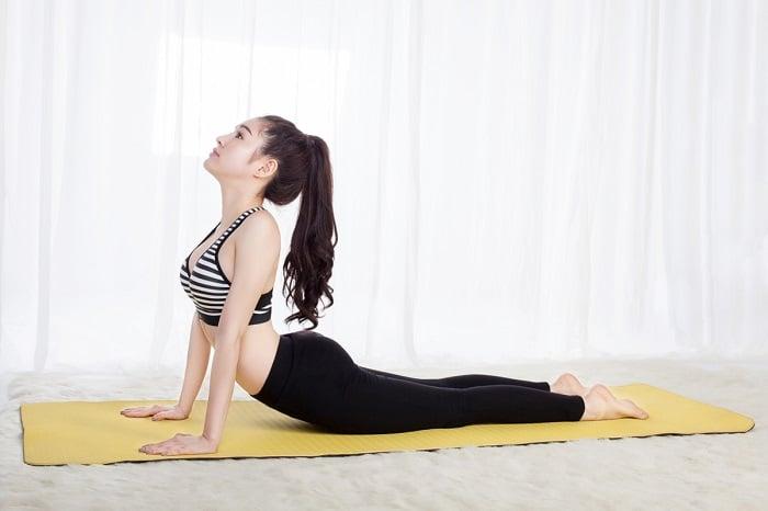 bài tập thể dục giúp tăng vòng 1