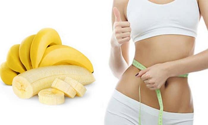 Ăn chuối giảm cân nhanh vì nó ít calo.