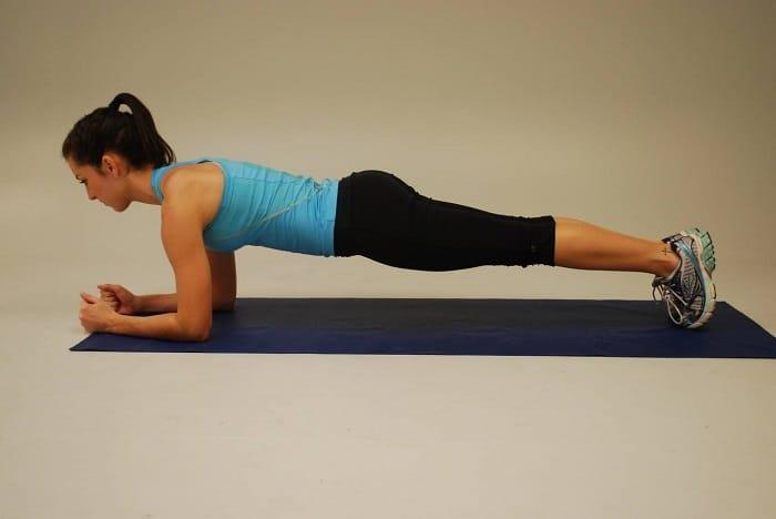 Plank cơ bản.