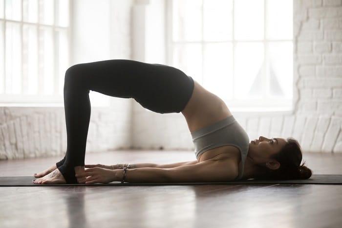 Đây là cũng bài tập yoga giảm cân và tăng vòng 1.