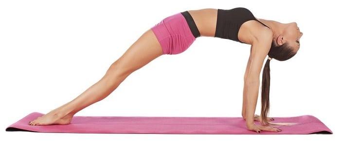 Bài tập yoga này không chỉ giúp giảm cân mà còn làm tăng vòng 1 cho chị em.