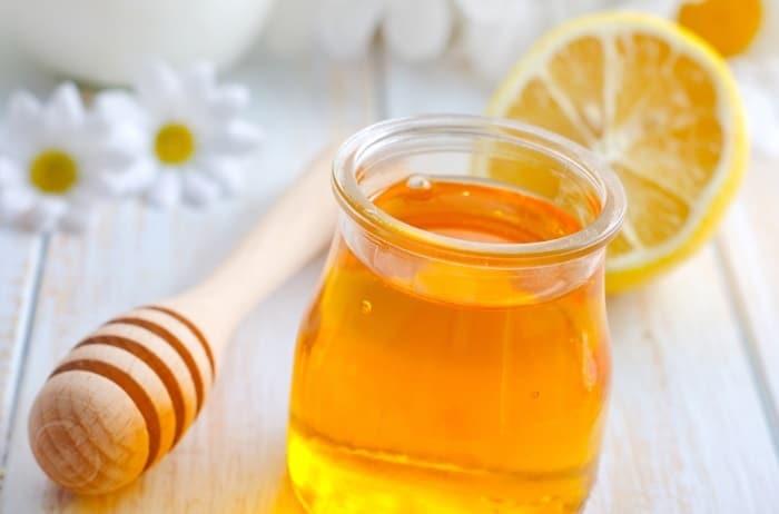 Chanh và mật ong.