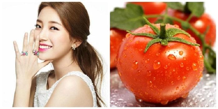 Cà chua sẽ làm giảm ăn mòn trên da của chanh.