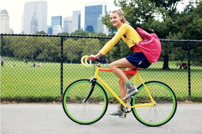Hay đơn giản là mỗi ngày đạp xe đến trường cũng giúp bạn phát triển chiều cao.