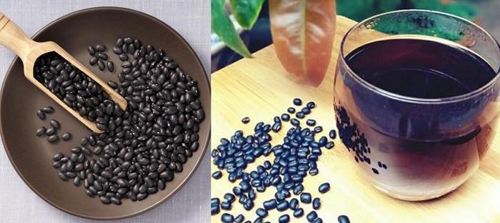 uống nước đậu đen rang có giảm cân không