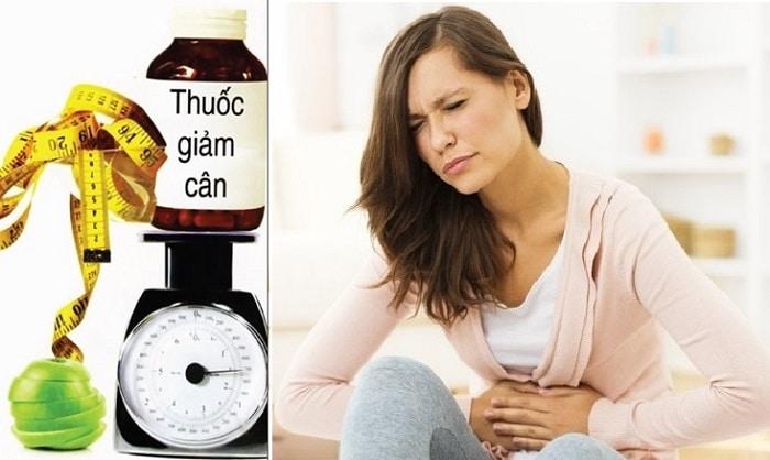 Một số loại thuốc giảm cân không rõ nguồn gốc gây hại cho cơ thể.