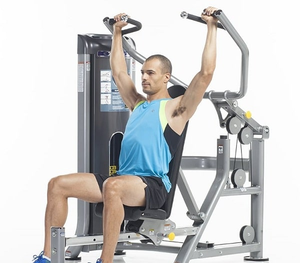 Ngồi đẩy vai - Selectorized Shoulders Press