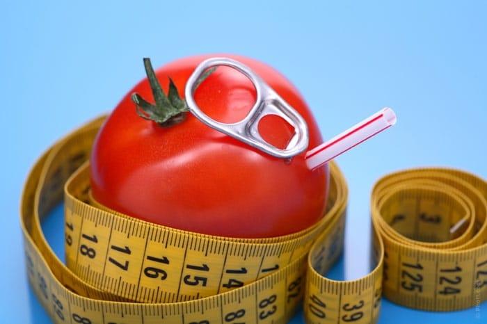 Giảm cân bằng cà chua đơn giản nhanh chóng lấy lại vóc dáng hoàn hảo mà còn có làn da hồng hào, mịn màng.