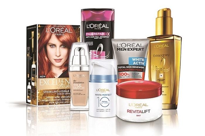 Có rất nhiều sản phẩm làm đẹp đến từ thương hiệu này. Từ chăm sóc da mặt cho đến trang điểm.