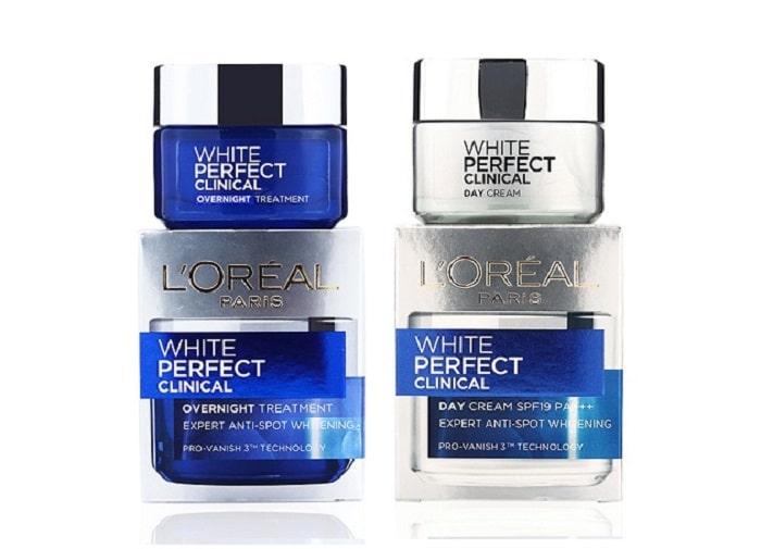 kem dưỡng trắng da loreal white perfect