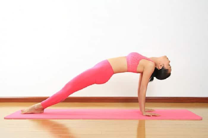 Yoga tư thế ưỡn người ngược