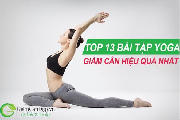 hình ảnh tập yoga giảm cân