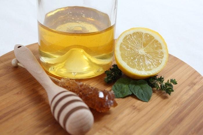 Chanh và mật ong giảm mỡ bụng