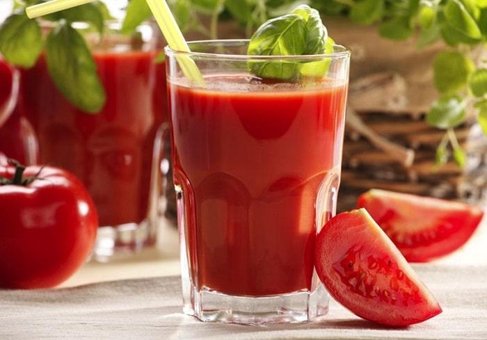Nước ép cà chua giảm cân