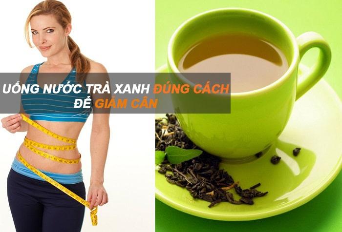 kết quả hình ảnh uống trà xanh giảm cân