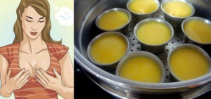 Trứng gà giúp tăng vòng 1.