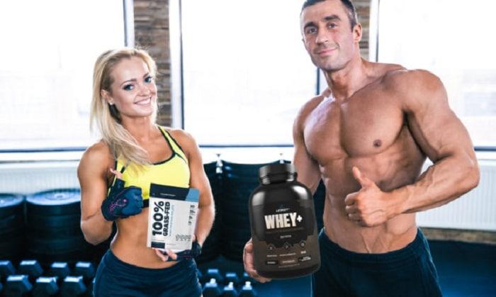 Không chỉ giúp tăng cơ mà Whey Protein cũng có thể giúp bạn giảm cân nếu thực hiện chế độ ăn uống và luyện tập khoa học.