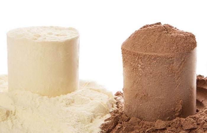 Đây là sữa đậu nành làm bột Whey và Whey Protein.