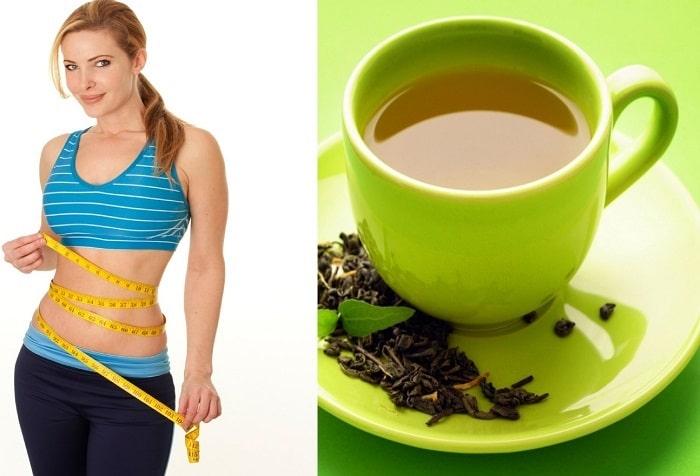Bên cạnh những thức ăn thì trà xanh cũng là thực phẩm bạn cần bổ sung nếu muốn giảm mỡ bụng cũng như giảm cân nhanh nhất trong 1 tuần.