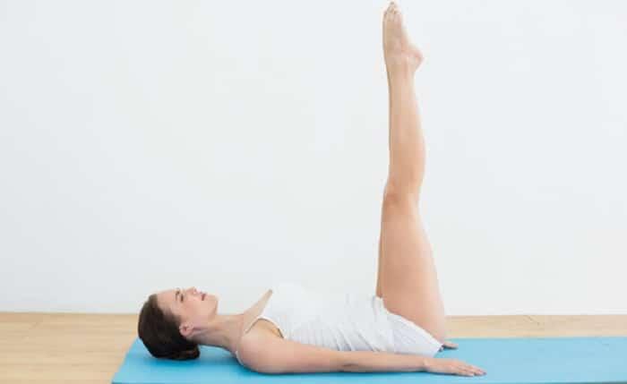 Bài tập yoga giảm mỡ bụng đơn giản.