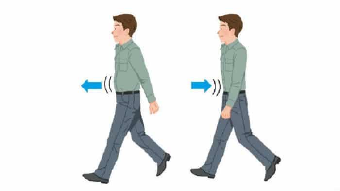 cách đi bộ giảm mỡ bụng của người nhật