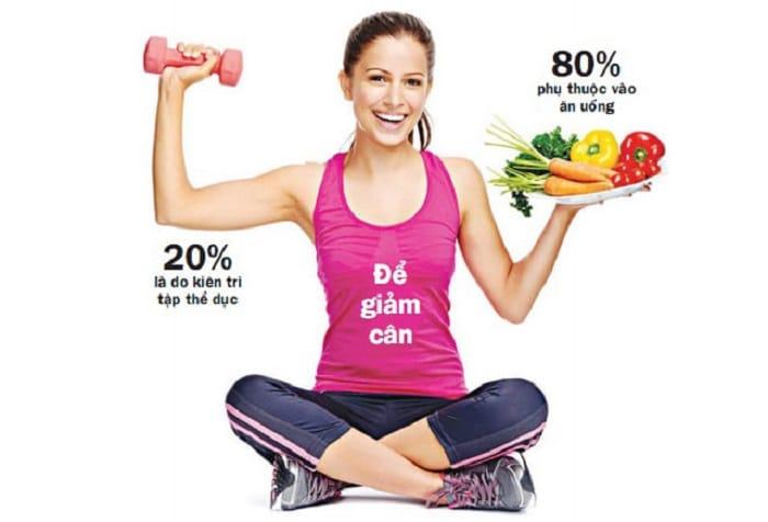Tuy nhiên, nếu muốn giảm mỡ bụng, giảm cân hiệu quả thì kết hợp song song giữa chế độ ăn uống và luyện tập thể dục thường xuyên.