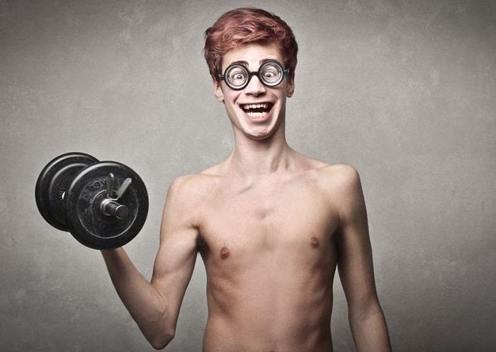 Lịch luyện tập gym cho nam.