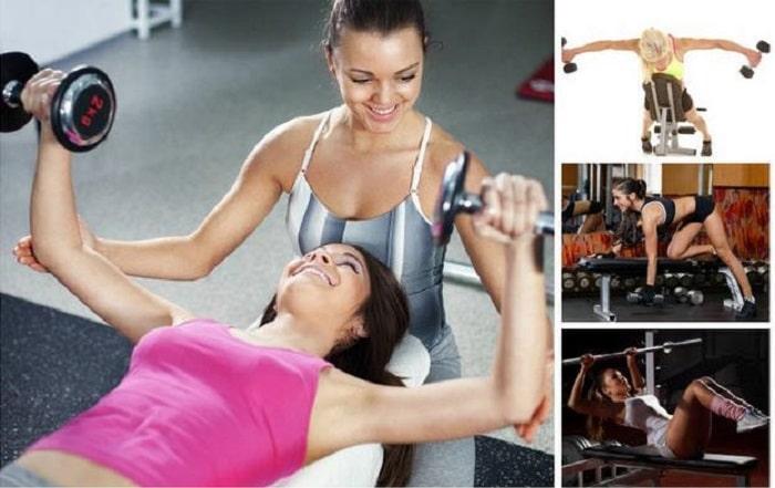 lịchtập gym tăng cân