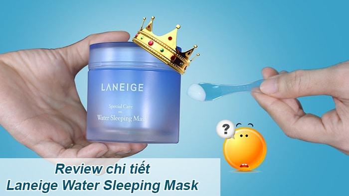 kết quả hình ảnh mặt nạ ngủ Laneige Water Sleeping Mask