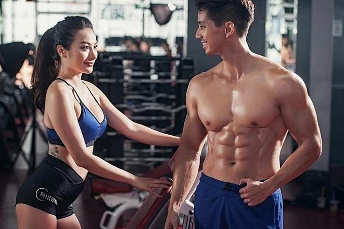 bài tập gym tăng cân