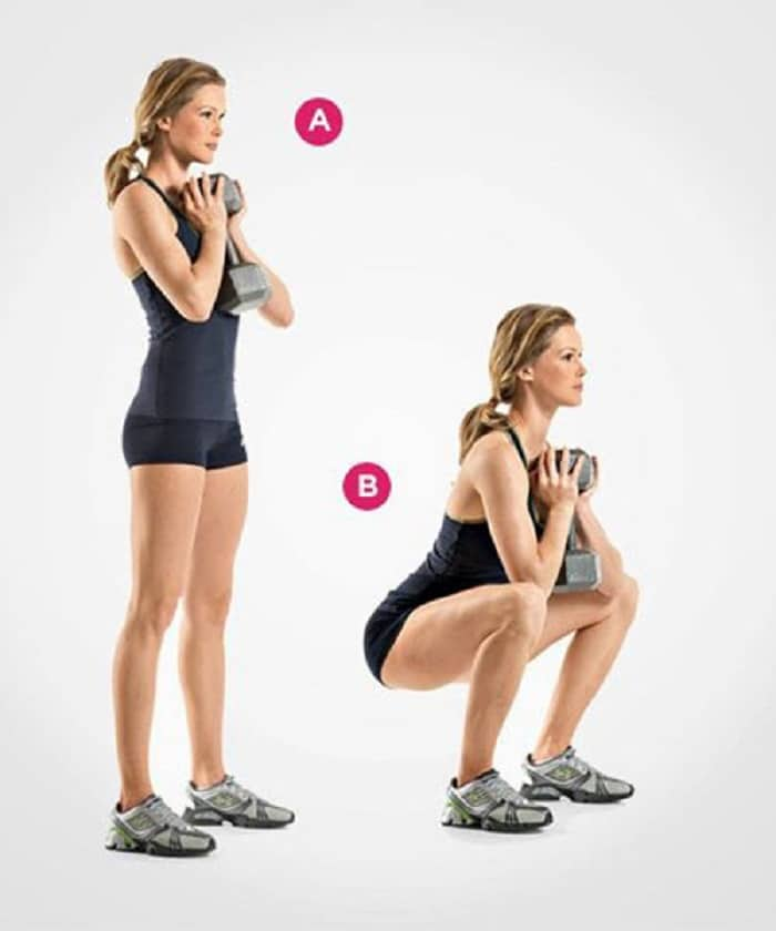 Bài tập gym tăng cân này giúp tăng vòng 3 triệt để mà cảm cho vòng eo thon gọn hơn.