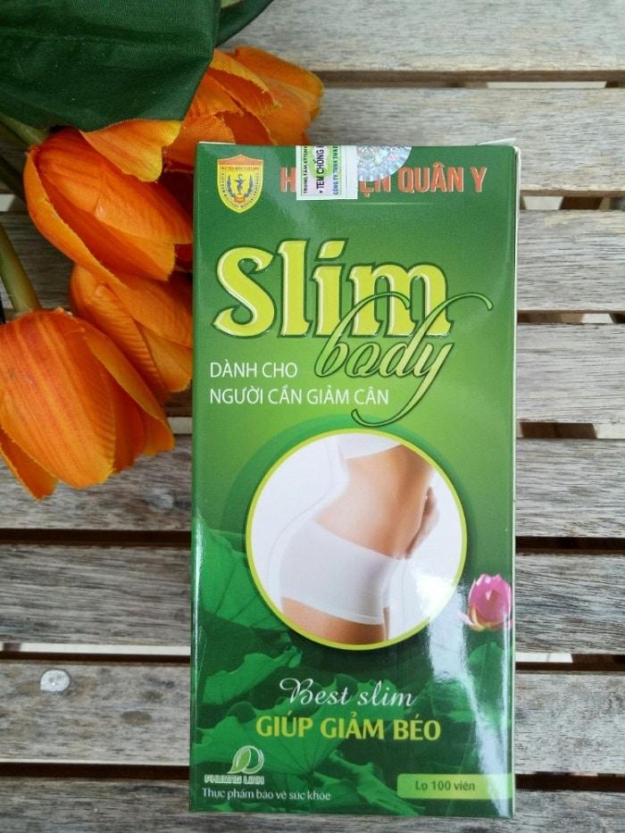 Thuốc giảm cân Slim Body của Học viện Quân y.