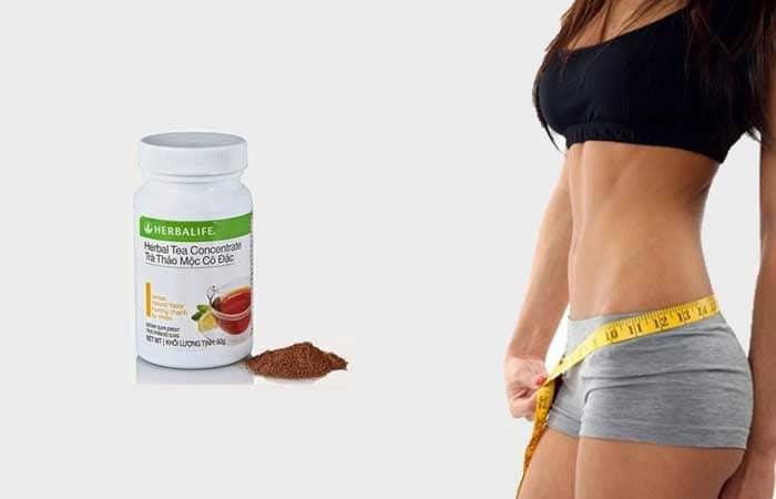 Trà thảo mộc là 1 trong bộ 4 sản phẩm giúp giảm cân hiệu quả của Herbalife.