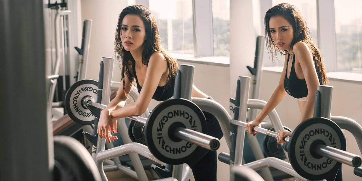 Tập gym thường xuyên, không được bỏ quãng nếu bạn muốn tăng cân.