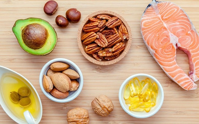 Thực phẩm chứa chất béo không bão hòa đơn.